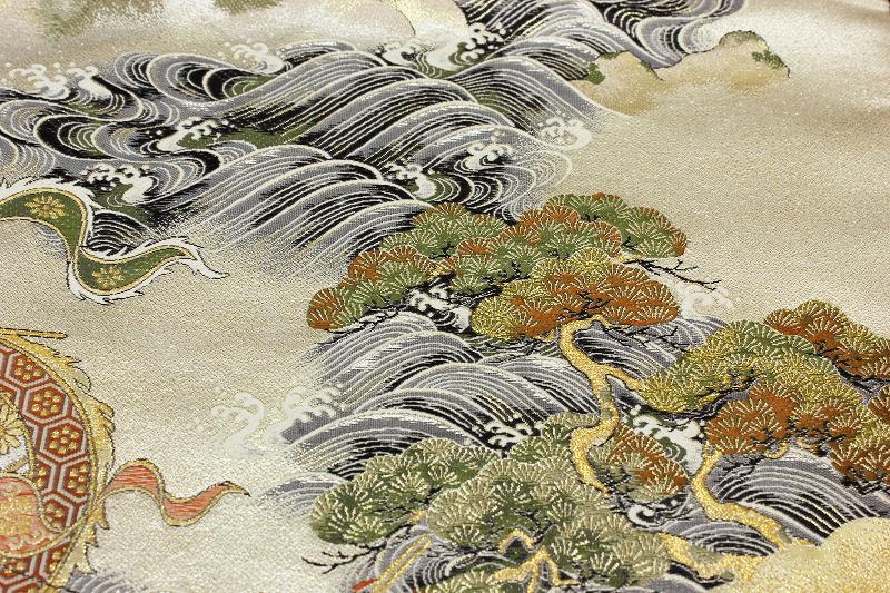 手绘 中式婚纱 设计图展示