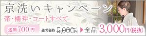京洗いキャンペーン